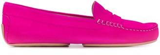 Pretty Ballerinas stitch detail loafers