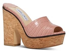Jimmy Choo Women's Deedee 125 Platform Sandals
