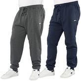 Slazenger Mens Plus Size Cuffed Jogger Casual Sweat Pants Sizes 2XL – 5XL