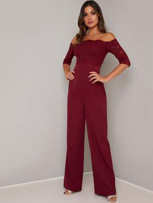 Chi Chi London Carmen Jumpsuit