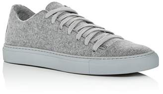John Varvatos Collection Men's Reed Felted Wool Low-Top Sneakers