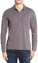 Robert Barakett Calgary Long Sleeve Polo