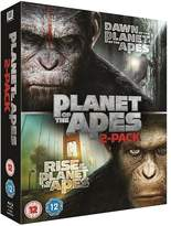 Dawn Of The Planet Of The Apes & Rise Of The Planet Of The Apes Blu-ray Collection
