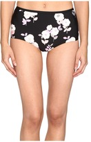 Kate Spade Posey Grove High Waist Bikini Bottom Women's Swimwear