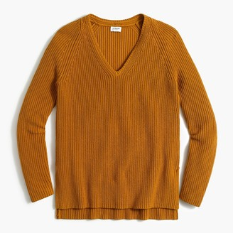 J.Crew V-neck tunic sweater