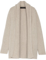 The Elder Statesman Italy Smoking Cashmere Cardigan - Beige