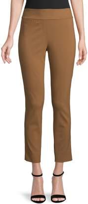 Isaac Mizrahi Imnyc Skinny-Leg Stretch Twill Pants