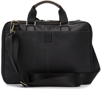 Boconi Slim Zipster Laptop Briefcase