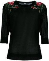 Diesel fine knitted top - women - Cotton/Nylon - XS