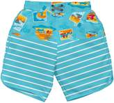 I Play I-Play Boys' Board Shorts with Built-In Reusable Absorbent Swim Diaper
