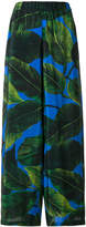 Altea leaf print palazzo trousers
