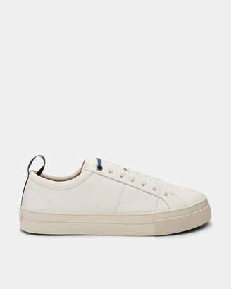 Ted Baker EPHRAN Leather plimsoll sneakers