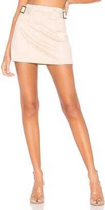 superdown Corilee Suede Skirt