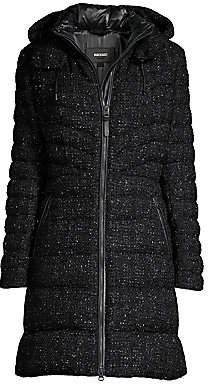 Mackage Women's Lara Tweed Puffer Coat