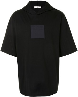 Givenchy logo patch hooded T-shirt