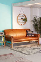 Urban Outfitters Cresley Leather Sofa