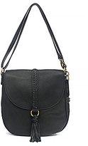 Lucky Brand Ali Tasseled Saddle Cross-Body Bag