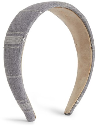 BRUNELLO CUCINELLI KIDS Lace-Detail Headband