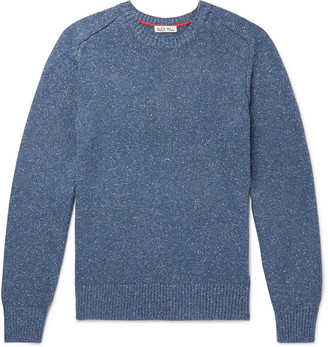 Alex Mill Melange Cotton And Silk-Blend Sweater