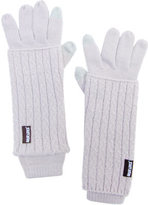 Muk Luks Women's Textured 3-in-1 Gloves