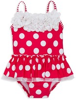 Little Me Infant Girls' Big Dot One Piece Swimsuit - Sizes 6-24 Months