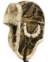 City Hunter W210 Camouflage Winter Ski Trapper Bomber Hat - 3 Colors