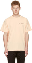 Saturdays NYC Pink les Samedis T-shirt