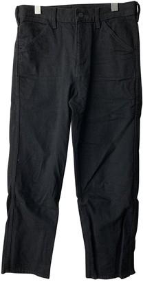 Uniqlo Black Cotton Jeans for Women