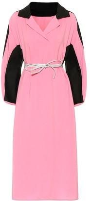 Marni Cotton and linen midi dress