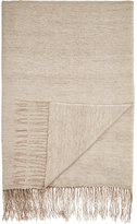 From The Road Turi Cashmere-Cotton Throw-TAN