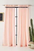 Anthropologie Embroidered Pibar Curtain