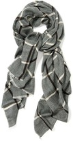 J.Mclaughlin Reese Wool Scarf in Checker