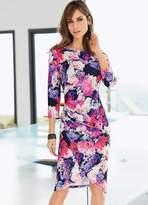 Together Cross-Over Floral Print Dress