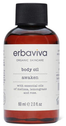 Erbaviva Awaken Body Oil Travel, 2 fl oz