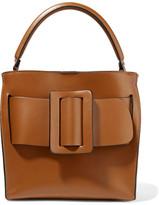 Boyy Devon 21 Buckled Leather Tote - Light brown