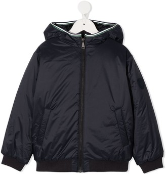 Bonpoint Zipped-Up Bomber Jacket