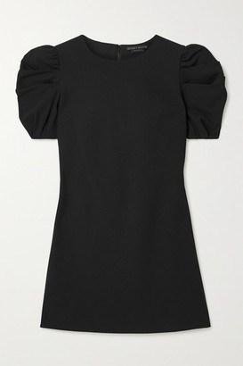 Alice + Olivia Hanita Crepe Mini Dress - Black