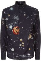 Valentino Cosmo Print Shirt