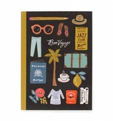 Rifle Paper Co. Bon Voyage Soft Cover Exercise Book - 120 Lined Pages