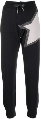 Lorena Antoniazzi Star Knitted Track Trousers