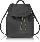 Diane von Furstenberg Satin Backpack w/Drawstring Flap Closure