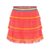 Gucci GUCCIGirls Coral Pleated Tulle Skirt