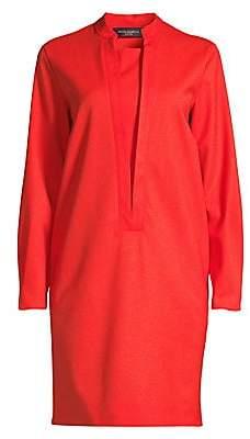 Piazza Sempione Women's Ovoid Stretch Virgin Wool Dress