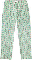 Cath Kidston Geo Flower Brushed Flannel Long PJ Bottoms