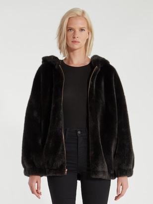 n:philanthropy Cedar Faux Fur Hooded Jacket