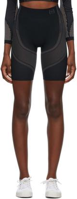 Wolford Black Zen Biker Shorts