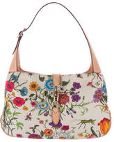 Gucci Flora Canvas Jackie Hobo