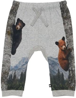 Molo Printed Organic Cotton Sweatpants