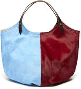 Penelope Chilvers Pony Pillow Leather Tote Bag