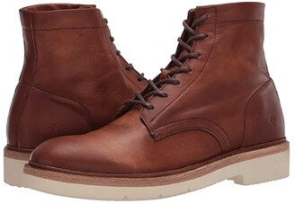 Frye Bowery Weekend Lace-Up (Black Soft Full Grain) Men's Lace-up Boots